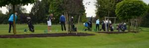 Golfturnier der Golfgiganten